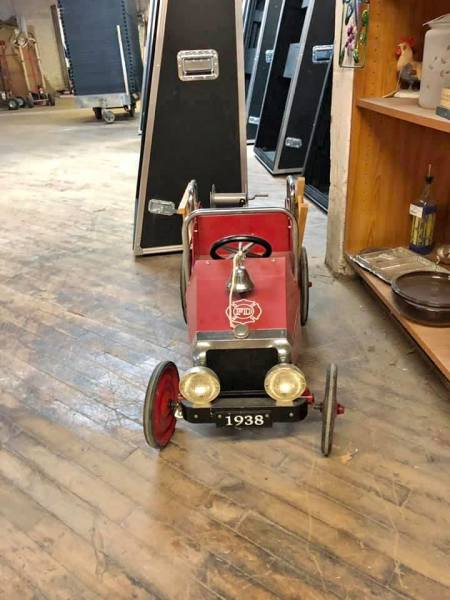 Fire truck pedal tractor $175.00